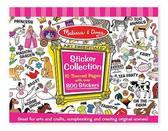 Розовый набор наклеек (700 шт.)
