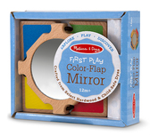 Деревянная игрушка Цветное зеркальце