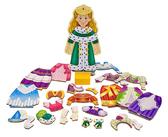 Одень принцессу Элизу- магнитная одевалка