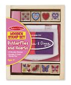 Набор штампов Бабочки и Сердечки