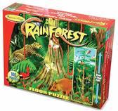 Rain Forest (100 pc) (Джунгли - напольный пазл, 100 эл.)