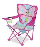 Раскладной детский стульчик Бабочка Белла NEW
