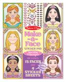 Набор наклеек Принцессы