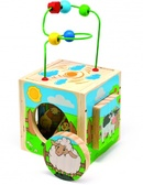 Универсальный куб «Ферма» от Мир деревянных игрушек