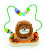 Лабиринт Деревянные игрушки Лев от Мир деревянных игрушек