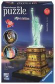 3D-пазл Статуя Свободы - ночная версия, 108 элементов