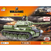 Конструктор COBI World Of Tanks Т-34/85, 425 деталей