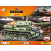 Конструктор COBI World Of Tanks Т-34/85, 425 деталей