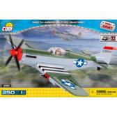 Конструктор COBI Вторая Мировая Война Самолет Мустанг, 250 деталей