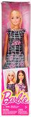 Кукла Барби Супер стиль, черное платье в белую клетку, Barbie, Matell