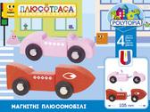 Магнитные плюсомобили Стиль 4 (70013), набор с автомобилем, Polytopia от Polytopia