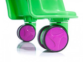 Детская каталка Whirlee (зеленый неон), Toy Monster от ToyMonster