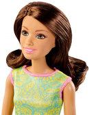 Кукла Барби с голубым кольцом-сердечком для девочки, Barbie, Mattel