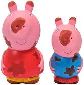 Пеппа и Джордж, набор игрушек-брызгунчиков Чистюля и грязнуля, Peppa