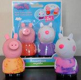 Пеппа и Сьюзи, набор игрушек-брызгунчиков Волшебные наряды, Peppa