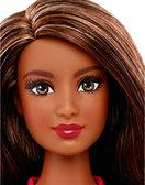 Кукла Барби Модница, мулатка в джинсовом платье и красных босоножках, Barbie, Mattel