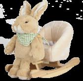 Детское кресло - качалка Кролик 3в1