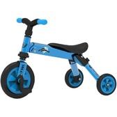 Складной трёхколёсный велосипед 2в1 (синий)