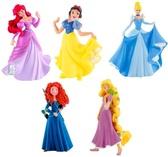 Набор фигурок Принцессы Дисней (5 шт.), Disney Princess, Bullyland
