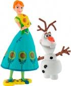 Набор фигурок Анна и Олаф, Disney Frozen, Bullyland