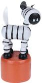 Дергунчик Зебра белая, Мир деревянных игрушек от Мир деревянных игрушек