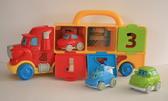 Развивающий игровой набор из грузовика и трех машинок «Господин грузовик» от Navystar (Навистар)