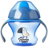 Первая чашка-непроливайка синяя, 150 мл, Tommee Tippee от Tommee Tippee(Томми Типпи)