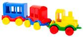 Паровозик Kid cars (3 шт.), Wader от Wader