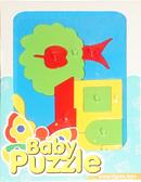 Развивающая игрушка Домик Baby puzzles, Wader