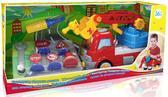 Конструктор Пожарная машина с дорожными знаками, BeBeLino от BeBeLino (Бебелино)