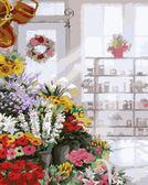 Букеты в цветочном магазине 40 х 50 см
