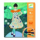 DJECO Художественный комплект вышивкаВечерняя мода