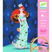 DJECO Художественный комплект вышивкаКоктельная мода