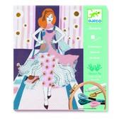 DJECO Художественный комплект вышивкаНеделя моды