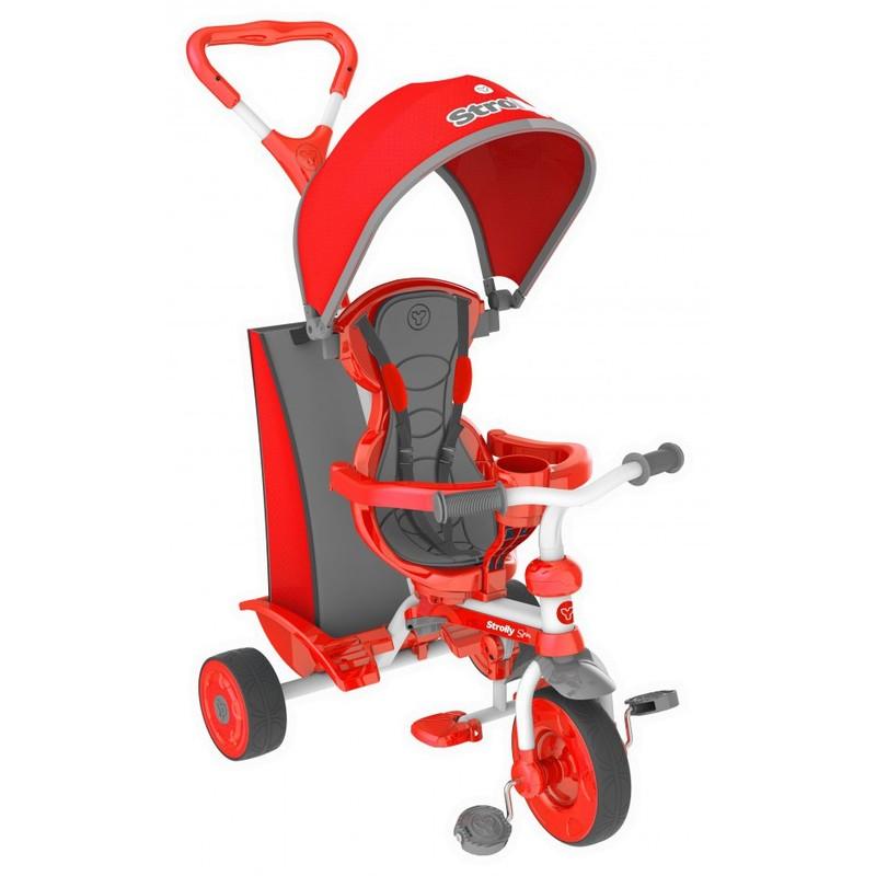 Y STROLLY Детский велосипед Spin красный