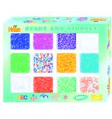 Термомозаика HAMA Набор цветных бусин, 9600шт 10 цветов и 2 смеси цветов Midi 5+