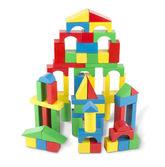 Игровой набор 100 деревянных кубиков