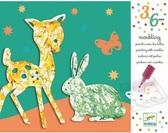 Художественный комплект пальчиковые краски Парад цветов DJECO