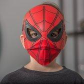 Маска человека-паука платик и ткань