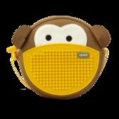 Сумочка на ремне Monkey - Кофейная