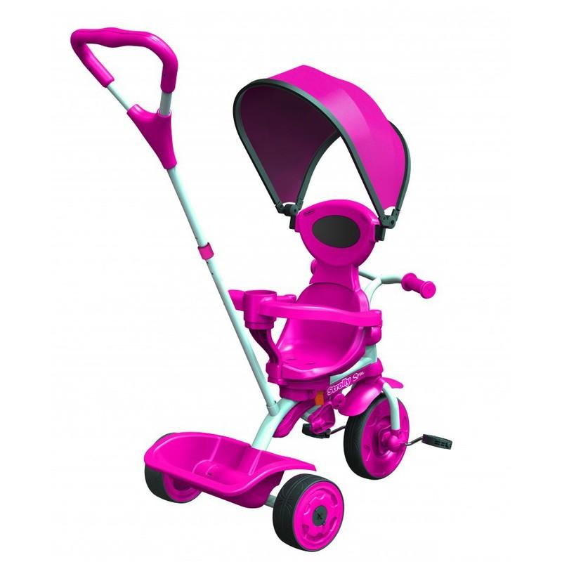 Детский велосипед Spin розовый