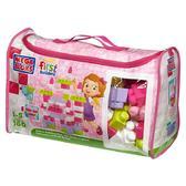 Набор конструктора в сумке Розовый цвет;160дет.;делюкс;1+ от Mega Bloks (Мега Блокс)