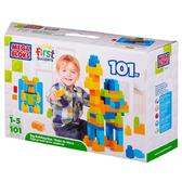 Набор конструктора в коробке;101 дет.;детали maxi;1+ от Mega Bloks (Мега Блокс)