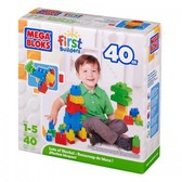 Конструктор в коробке; 40 дет.(макси); 1+ от Mega Bloks (Мега Блокс)