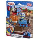 Серия Томас. Паровоз Томас с вагончиком; 20дет., 3+ от Mega Bloks (Мега Блокс)