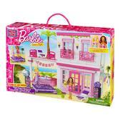 Серия Барби. Набор конструктора Пляжный дом; 4+ от Mega Bloks (Мега Блокс)