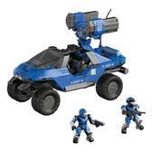 Серия Halo.Набор конструктора Автомобиль и солдаты UNSC, 285 дет от Mega Bloks (Мега Блокс)