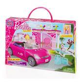 Серия Барби. Набор конструктора Автомобиль; 4+ от Mega Bloks (Мега Блокс)