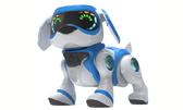 Интерактивный робот-щенок (белый с голубым) от Teksta (Текста)
