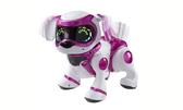 Интерактивный робот-щенок (белый с розовым) от Teksta (Текста)
